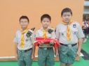國慶前升旗儀式