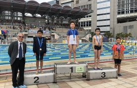 2017-2018年度青衣區小學校際游泳比賽